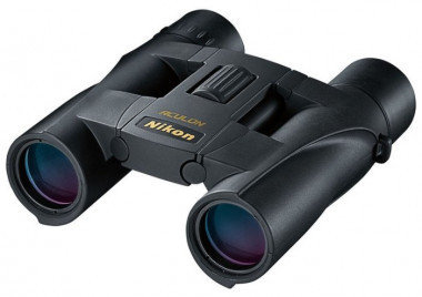 Бинокль Nikon Aculon A30 8x25, 8х, 25мм, Silver