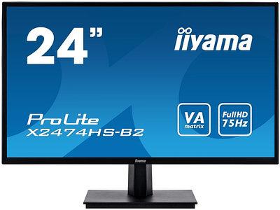 """Монитор Iiyama ProLite X2474HS-B2 24"""", черный"""