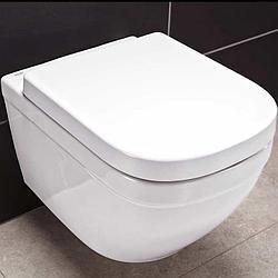 Унитаз подвесной безободковый Grohe Euro Ceramic 3932800 + Сиденье микролифт 39330001