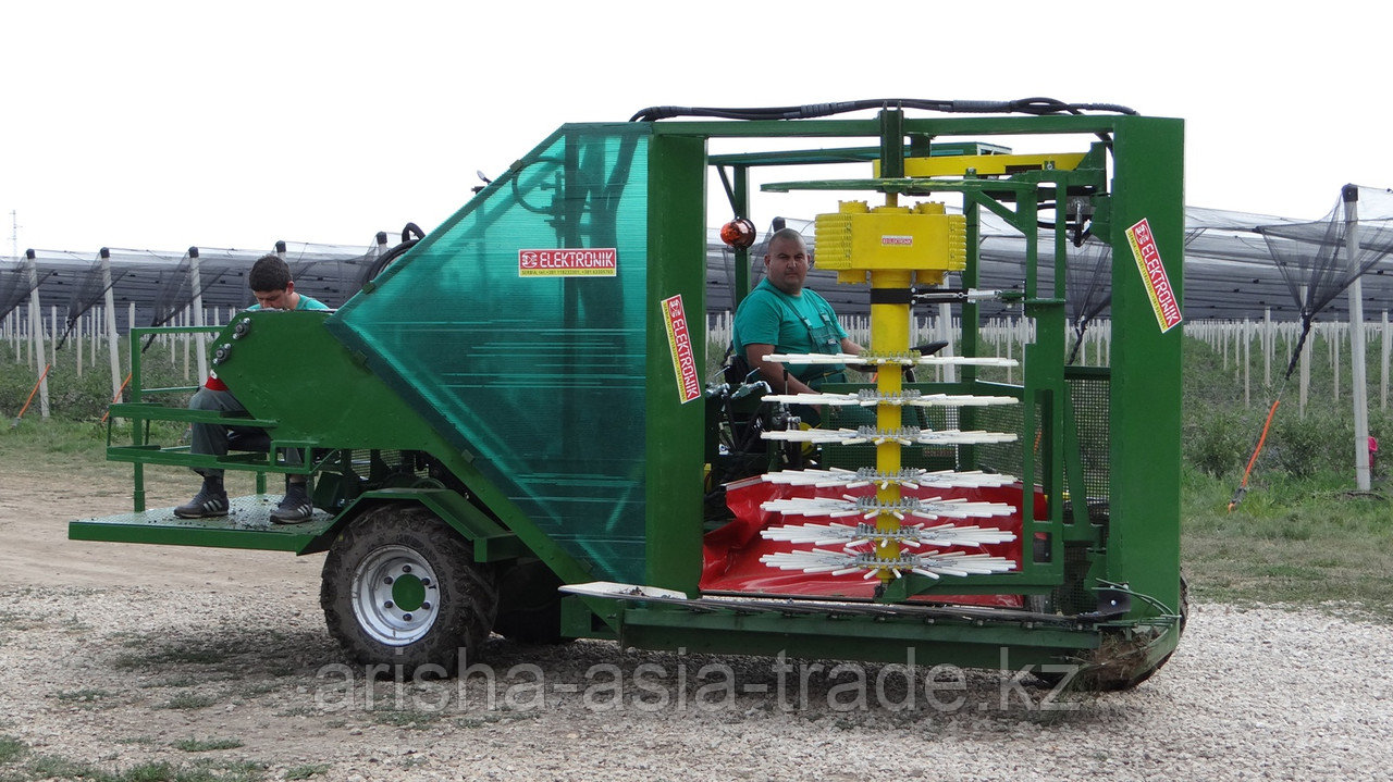 Оборудование по сбору урожая малины и голубики, ягод Европа
