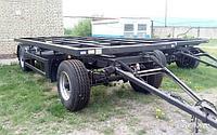 Тракторные прицепы шасси двухосные
