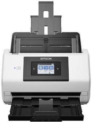 Сканер Epson WorkForce DS-780N, A4, 600x600dpi, 48-bit, 45ppm, 5000 скан/день, ADF, LAN, USB 3.0