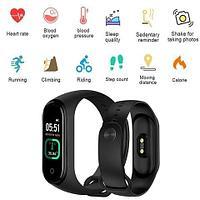 Браслет здоровья Smart Bracelet 5 PRO с градусником и тонометром (Черный)