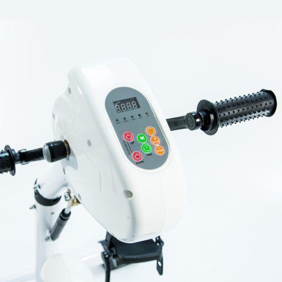 Велотренажер педальный двухмоторный Мега-Оптим HSM-20CE - фото 2