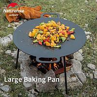 Сковорода для пикника Naturehike (574993=Black-round)