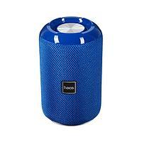 Портативная колонка Hoco HC1, 5 Вт, BT, microSD, USB, microUSB, AUX, FM, 1200 мАч, синяя