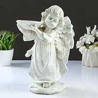 """Фигура -поилка """"Ангел с чашей"""" 30х21см"""