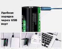 Dablepow Тип D №1 9000 Мвт/ч 1,5V 3261 Литий Ионный аккумулятор с зарядкой от USB