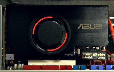 Звуковая карта ASUS Xonar D2, черная