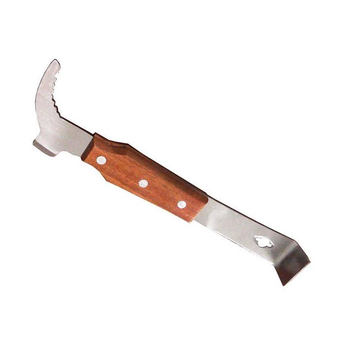 Стамеска Козья Ножка плоская