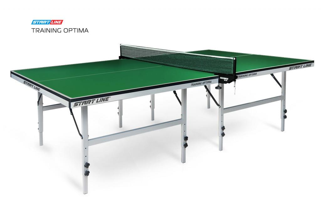 Теннисный стол Training Optima green