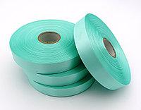 Текстильная сатиновая лента 25мм/200м Морской волны 314