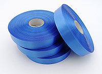 Текстильная сатиновая лента 25мм/200м ГОЛУБОЙ 337