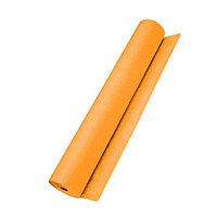 Простыни РФ 14гр 100шт 200*70см оранжевые в рулоне
