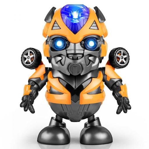 696-58 Робот Бамбелби танцует светится Super Hero Dance 21*15см