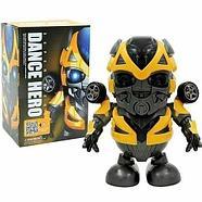 696-58 Робот Бамбелби танцует светится Super Hero Dance 21*15см, фото 3