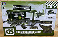 CM 559-62B Военная заправка Military Car gasoline 40*27, фото 1