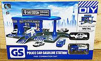 CM 559-32B Полицейская заправка Police Car gasoline 40*26, фото 1