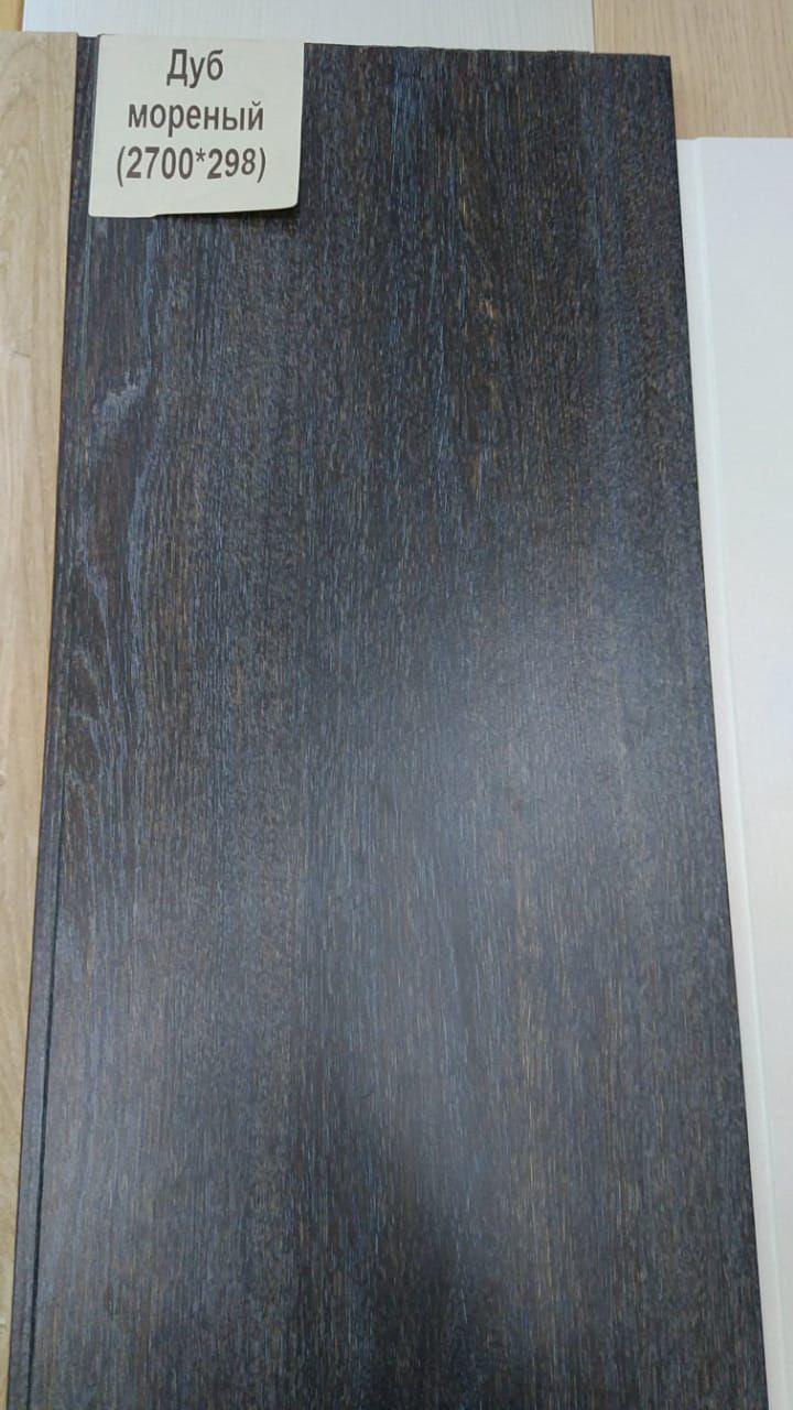 Декоративный стеновой панель из МДФ Панель, Дуб морёный