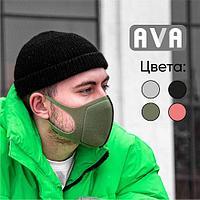 AVA маска для лица многоразовая двухслойная №1