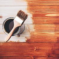 Покрытие деревянных поверхностей