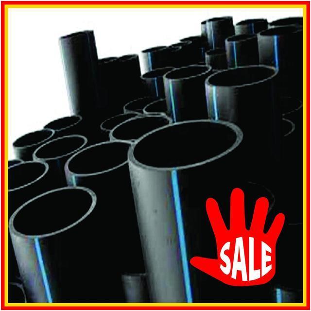 Трубы ПНД от 16мм до 160мм для канализации