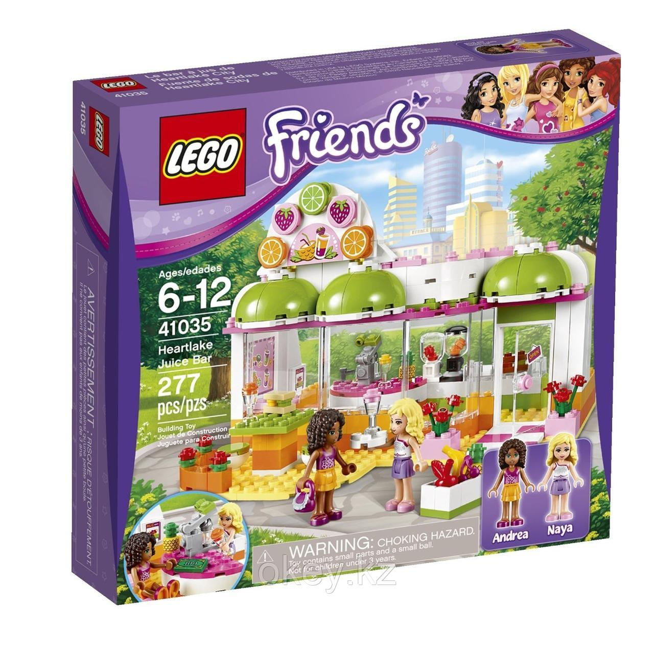 LEGO Friends: Фреш-бар Хартлейк Сити 41035