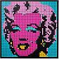 LEGO Art: Мэрилин Монро Энди Уорхола 31197, фото 5