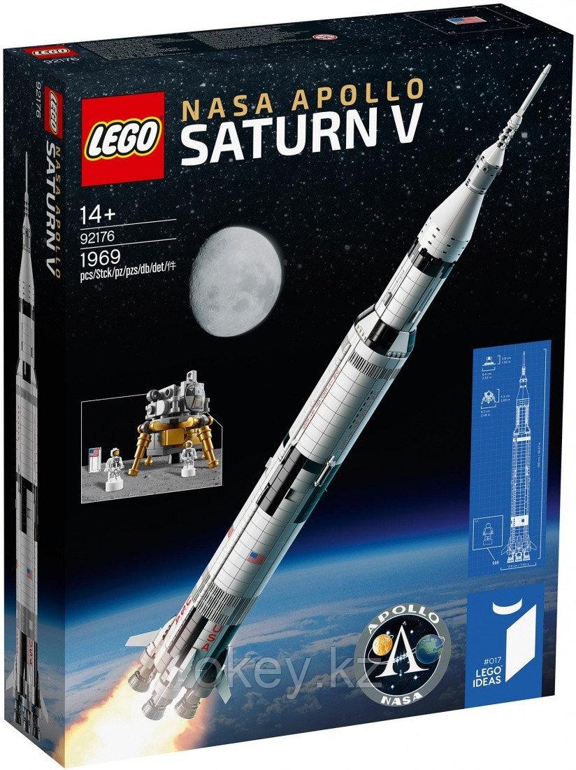 LEGO Ideas: Ракетно-космическая система НАСА Сатурн-5-Аполлон 92176