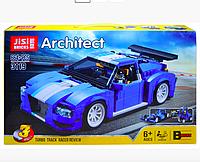 Конструктор 3119 Гоночный автомобиль 3-в-1, аналог Lego Креатор 31070, 664 деталей