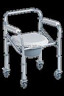 Кресло-туалет на 4 колесах складное TRIVES (Россия)