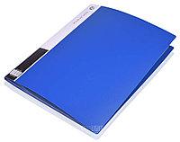 Папка пластиковая с файлами А4 60 листов (голубая)