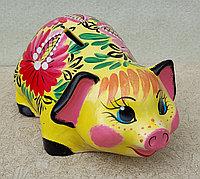 Керамическая копилка Свинья