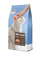 Winner Сухой корм для пожилых кошек, курица