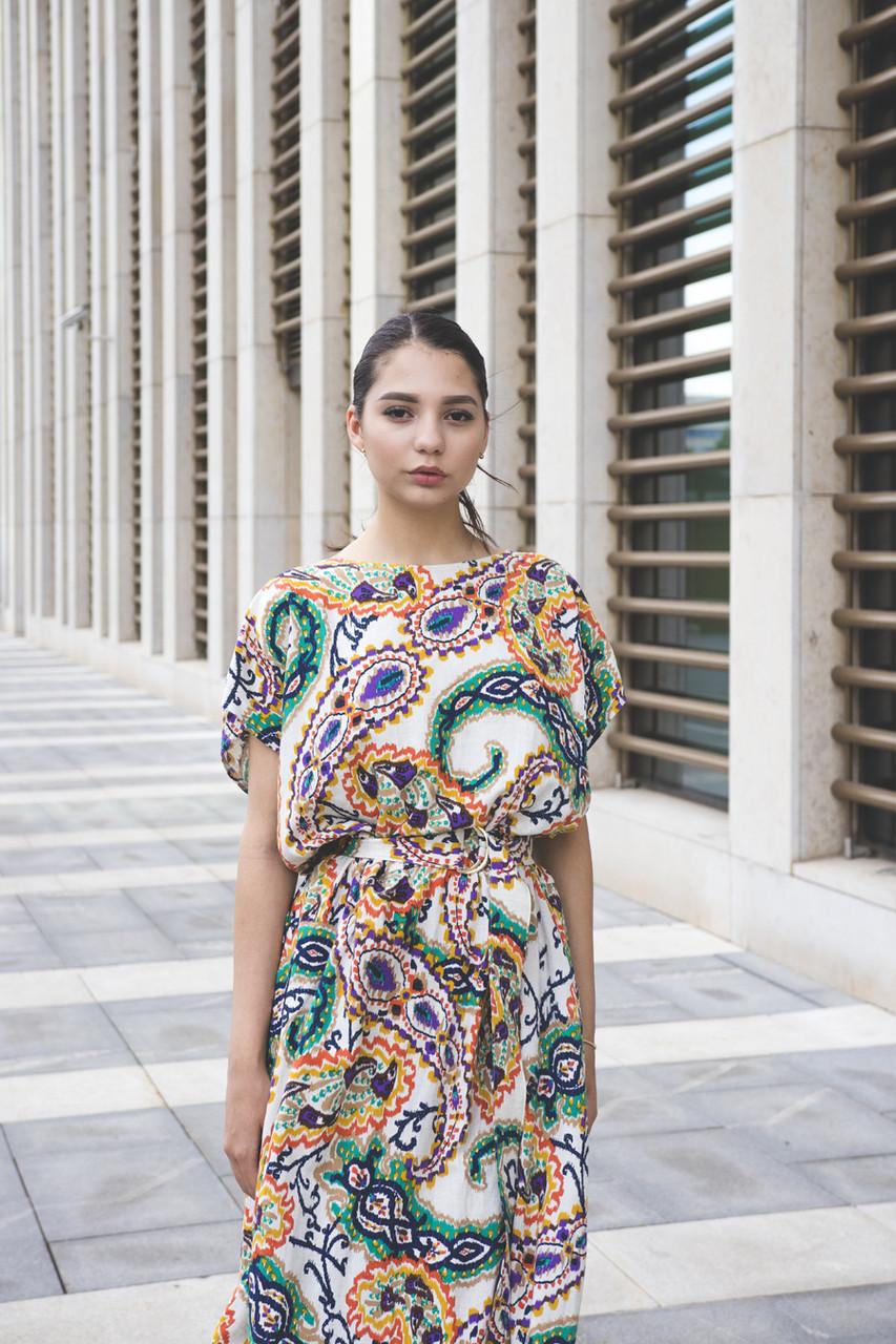 Грациозное платье «Hanym»
