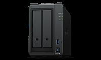 Сетевое оборудование Synology DS720+ Сетевой NAS-сервер, 2 отсека для HDD