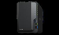 Сетевое оборудование Synology Сетевой NAS сервер DS220+ 2xHDD для дома