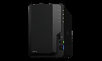 Сетевой NAS-сервер Synology DS218 2xHDD NAS-сервер All-in-1