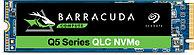 """Твердотельный накопитель SSD BarraCuda Q5 3D NAND ZP500CV3A001 500GB 2,5"""" PCIe Gen3 x4, NVMe 1.3"""