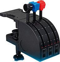 Контроллер для игровых авиасимуляторов Logitech G Flight Throttle Quadrant