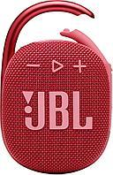 Портативная акустическая система  JBL CLIP 4, красная