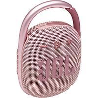 Портативная акустическая система  JBL CLIP 4, розовая