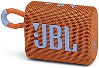 Портативная акустическая система JBL GO 3 оранжевая