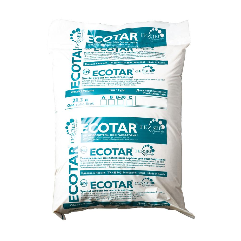Сменная засыпка Экотар-В для жесткой и железистой воды