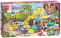 Конструктор Вечеринка Андреа у бассейна LARI 11380 (аналог LEGO 41374), 472 дет.