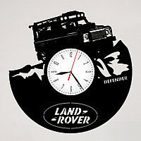 Настенные часы Land Rover Defender Ленд Ровер Дефендер, подарок фанатам, любителям, 2143