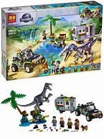 Серия конструктора Lari Юрский период Динозавры «Поединок с Бариониксом. Охота за сокровищами»
