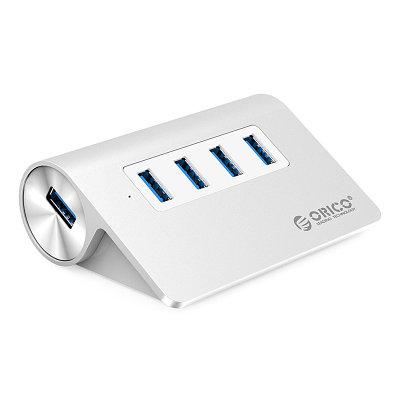 USB HUB Orico M3H4 4-port USB 3.0, Silver
