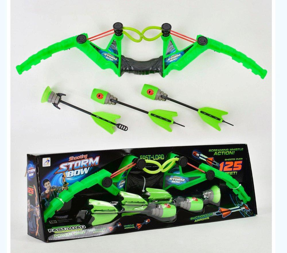 AX1020 Лук Shooting Storm bow стрелы с липучками 60*19
