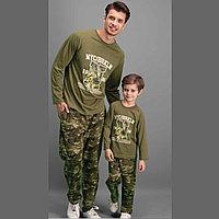 Пижама детская мальчиков 5 / 110 см, Хаки